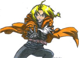 Edward Elric by CherryGrove