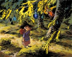 Elsie in the woods by toerning