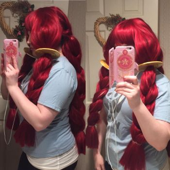 Irene Belserion WIP #3 by TheCyberZombie