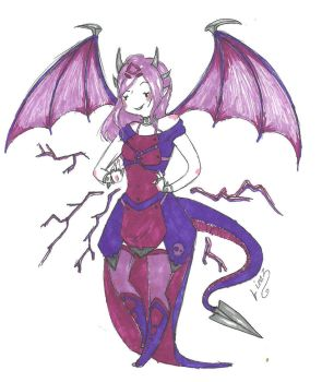 Cynder by lime-tailes