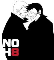 NOH8 by MATneeneeluv