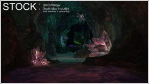 Crystal Cave STOCK by Hameed