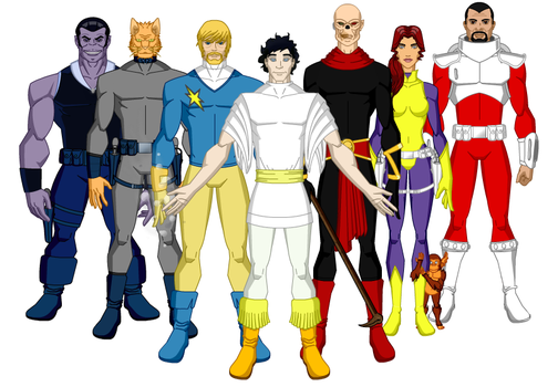 Rebeldes de Dreadstar by All10