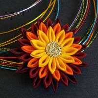 Sunrise Brooch for Dzioo by Arleen