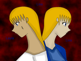 Two Versions Of Lisa by QueenBrittStalin