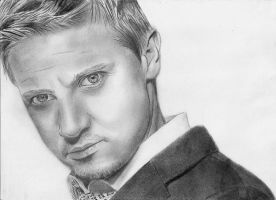 Jeremy Renner by shinyDarkness