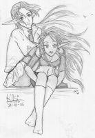 Lynkey and Albeth by KaloaMizu