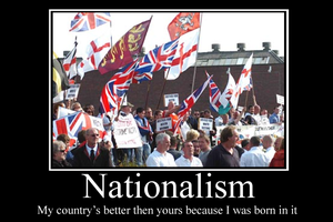 Nationalism demotivator by Party9999999