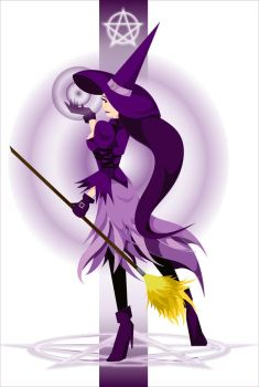 A Witch...in purple by lsyw