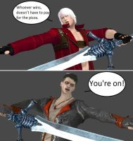 Injustice: Dante vs ...Dante? by xXTrettaXx