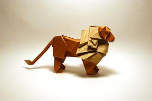 Origami Lion by orimin