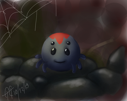 Baby Spider by GGgunner47