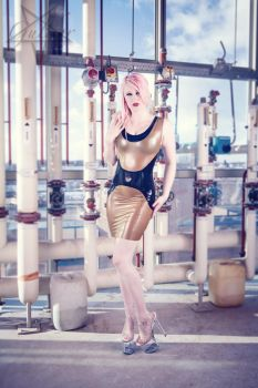 Cute industrial latex 01 by GuldorPhotography