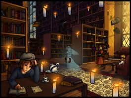 Enchanted Library by KteaCrumpet