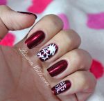 Nail Art Nouvel An Chinois by Lizananails