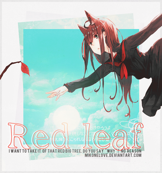 Id: Red leaf~ by MikoneLOVE