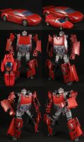 Custom Gobots Turbo by Solrac333