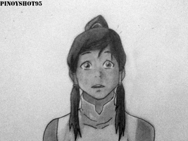 Korra Drawing by Pinoyshot95