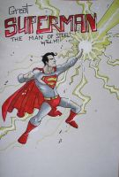 SUPERMAN CLASSIC STEEL by Lapsus-de-Fed