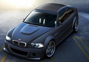 BMW M3 CSL by EvolveKonceptz