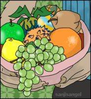 Neopets Fruits by airlobster