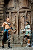 Jann Lee and Xing Cai - Crossover Cosplay Leon C. by LeonChiroCosplayArt