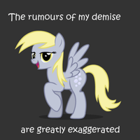 Derpy Lives by Aerllette