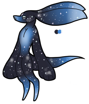 50 point Galaxy creature adopt (open) by Sweetnfluffy-adopts