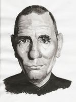 pete postlethwaite in ink by chinny91