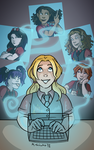 WITCH GIRLS Chapter Headings 1 by msciuto