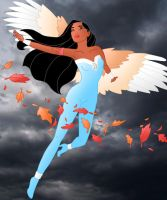 Disney Superheroes: Pocahontas by Willemijn1991