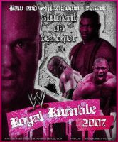 Royal Rumble 2007 Poster by bacon111