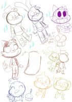 five nights at freddys in TAWOG 2 by Powerkat47