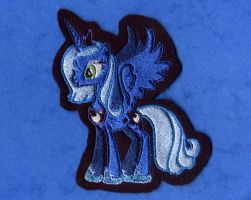 Princess Luna Embroidered Patch by GothyBeans