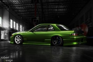 Nissan Silvia S13 4 year later by Rob3rT----Design