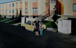 grandmother by knoppersa