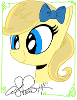 I drew over a Picture, got at a con and this is it by candytoy52