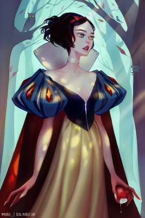 Snow White by mior3e