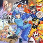 Mega Man - Videogame Experience Artbook Project by Aiko-Mustang