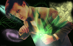Doctor Who Wallpaper by RoseSwan