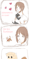 APH - Problem with cats by EsuNeh
