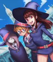 Little Witch Academia by jcco88