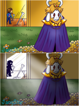 An Undertale Mini Comic PART1 by Jany-chan17