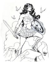 WONDER WOMAN by Wieringo