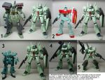 HGUC Jegan Review Part 3: Comparisons and Misc by Blayaden