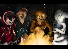 By The Firelight by Aspenture