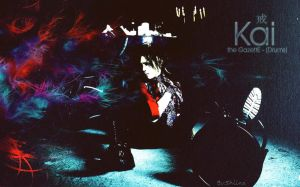 Kai - Wallpaper by ShiinaJrocker