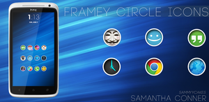 Framey Circle Icons by sammyycakess