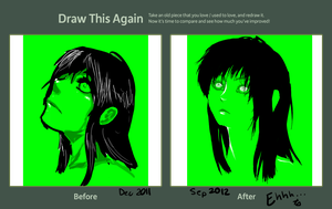 That Green Lady - Contest Entry by ArtisticMii