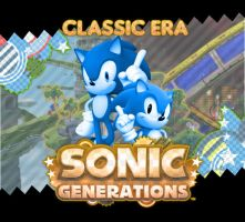 Sonic Generations OST - Classic Era CD by Aramayo93